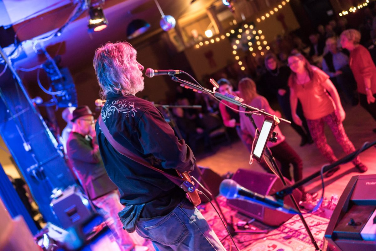 Tobacco Road The Blueshounds perform at theOrchard House Nov 28 2019 Video by Orchard House Greg Reely (sound) and Phil Jones Video Operator.